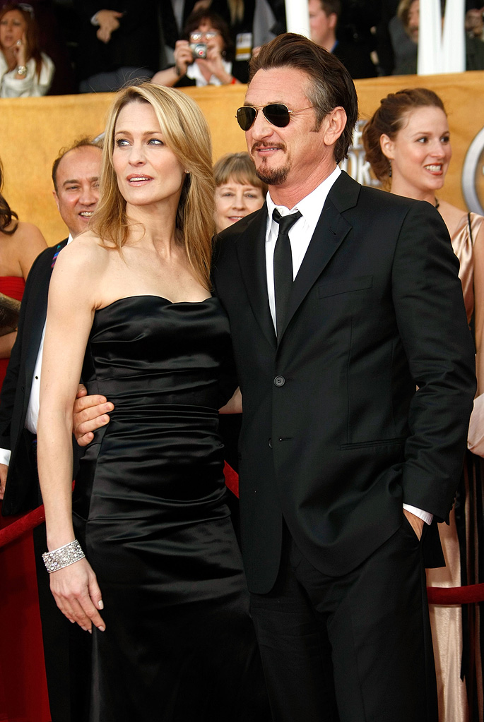 SAG Awards 2009 Robin Wright Penn Sean Penn