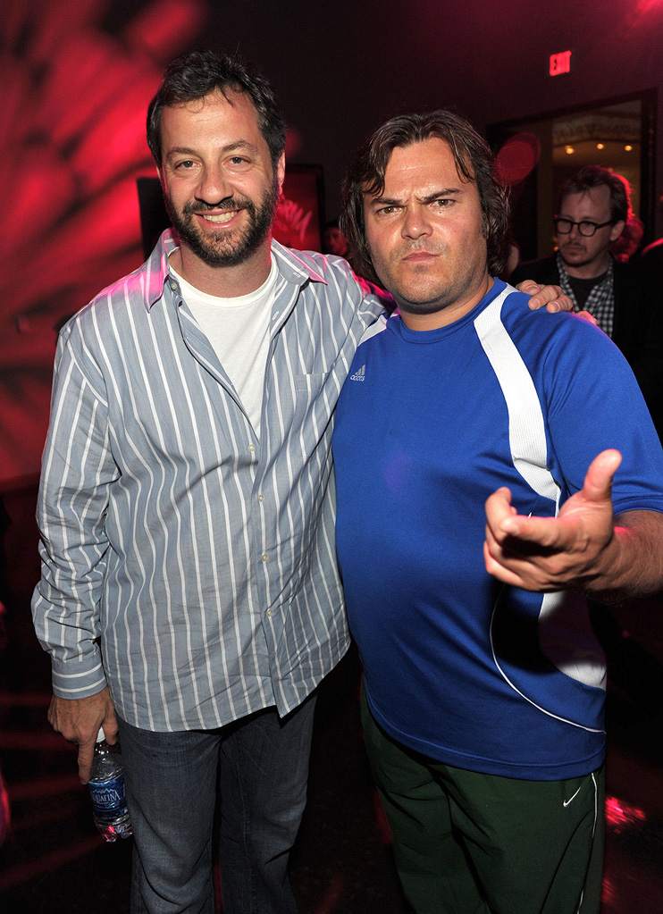 Scott Pligrim vs the World LA premiere 2010 Judd Apatow Jack Black