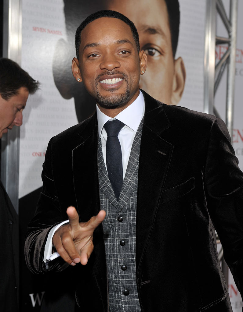 Seven Pounds LA Premiere 2008 Will Smith