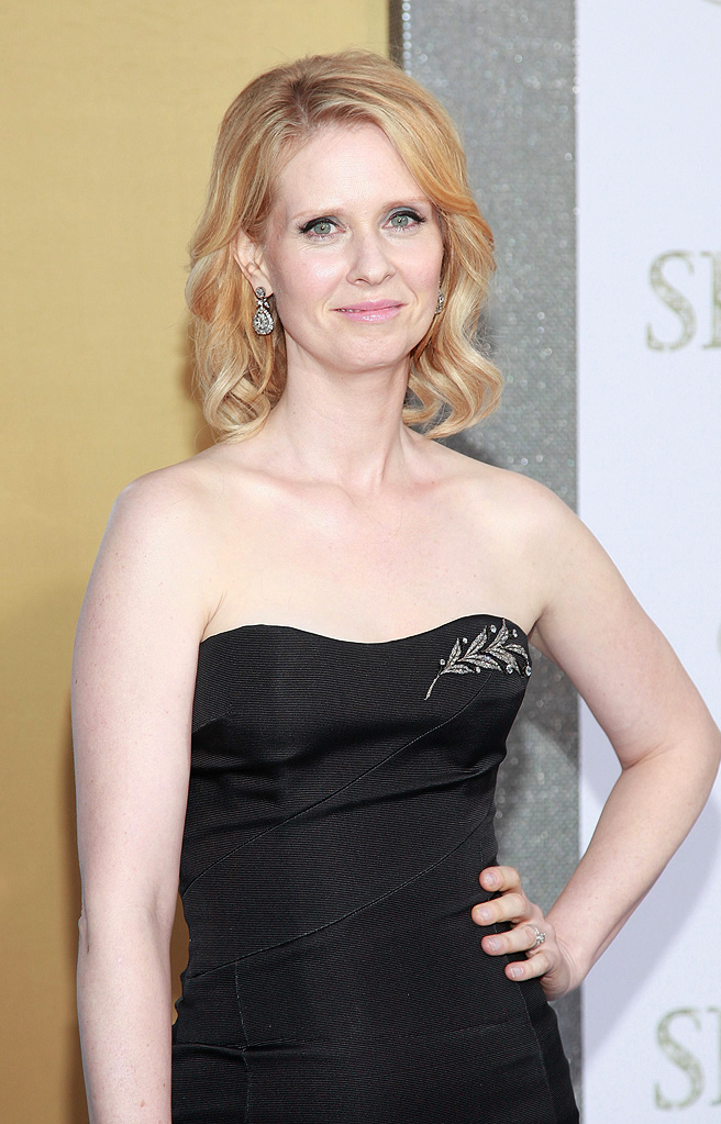 Sex and the City 2 NY Premiere 2010 Cynthia Nixon