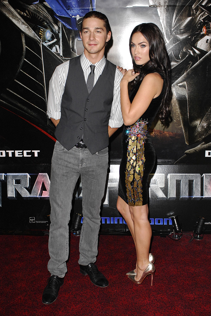 Shia LaBeouf 2007 Megan Fox
