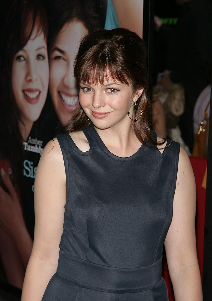 The Sisterhood of the Traveling Pants 2 Premiere 2008 Amber Tamblyn