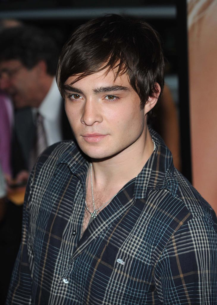 The Sisterhood of the Traveling Pants Premiere 2008 Ed Westwick