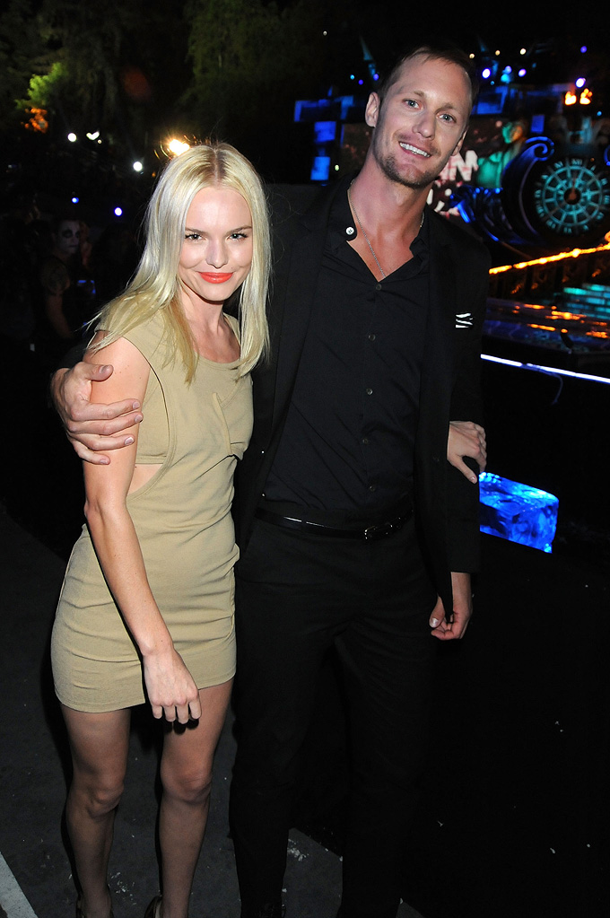Spike TV's Scream Awards 2009 Kate Bosworth Alexander Skarsgard
