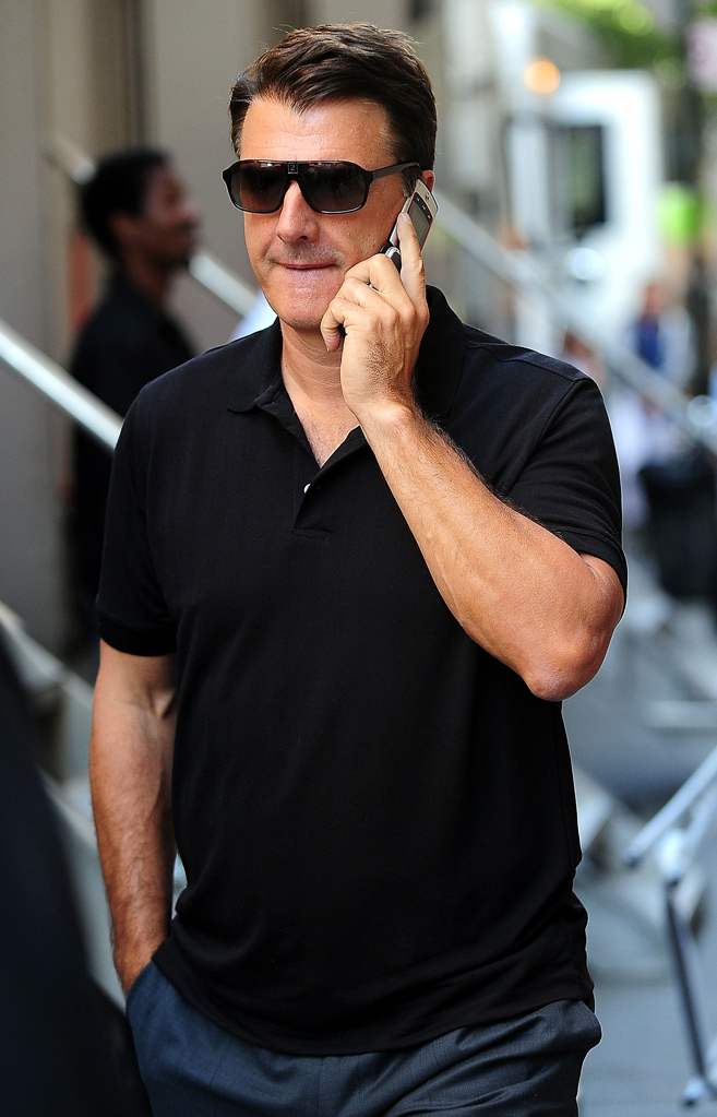 Spotted on set September 2009 Chris Noth