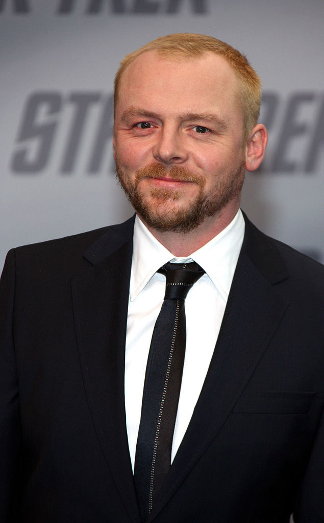 Star Trek Berlin Premiere 2009 Simon Pegg