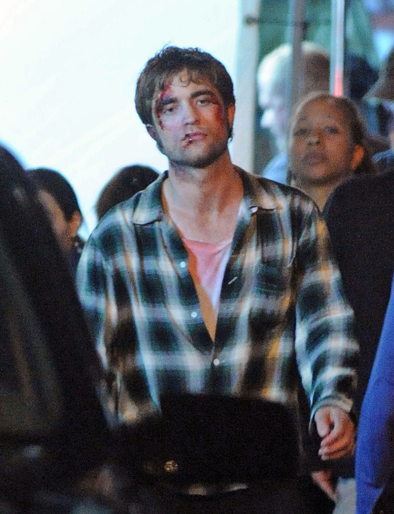 Stars on Set Robert Pattinson 2009