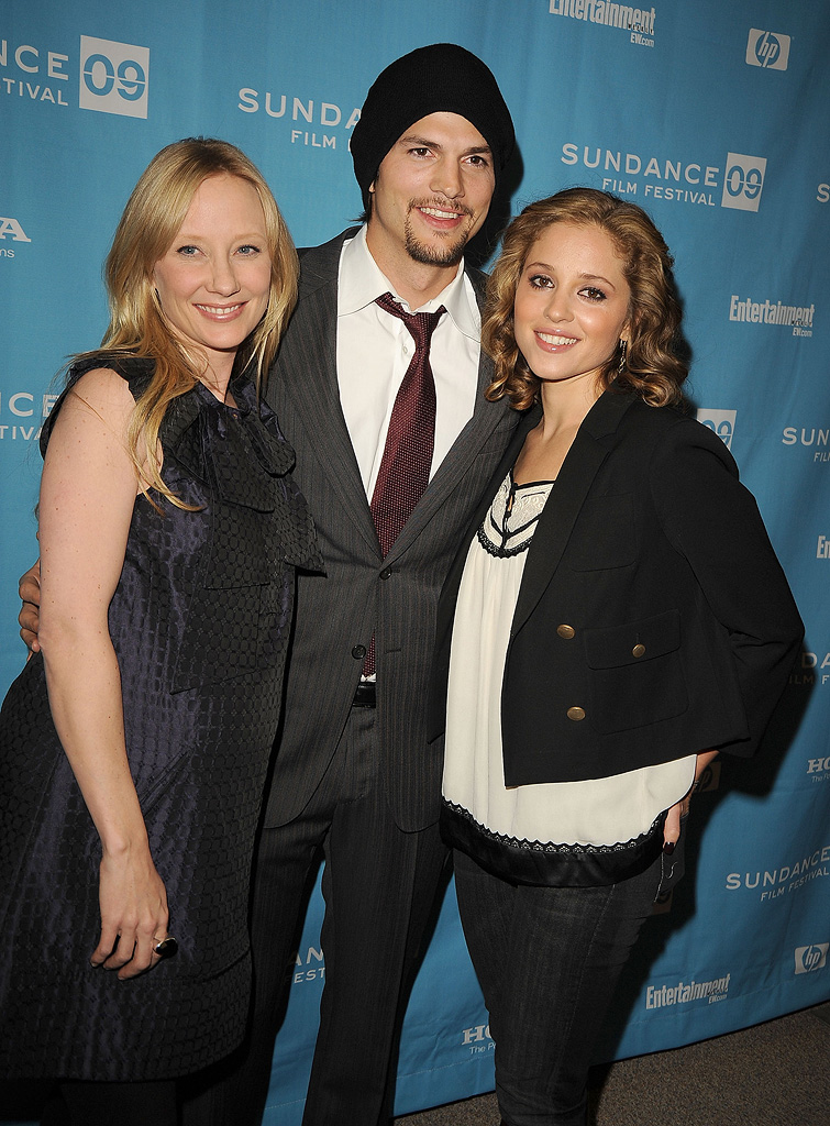 Sundance Film Festival 2009 Screenings Anne Heche Ashton Kutcher Margarita Levieva