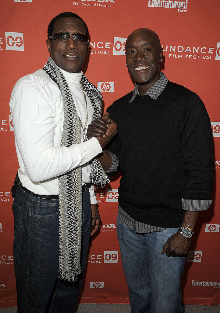 Sundance Film Festival Screening 2009 Wesley Snipes Don Cheadle