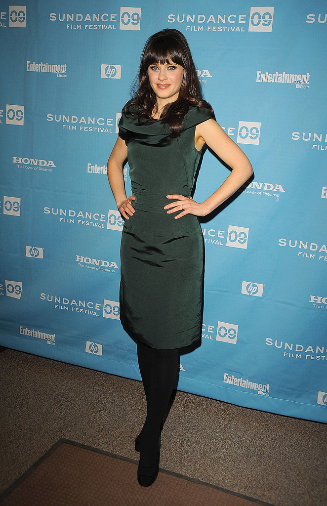 Sundance Film Festival Screening 2009 Zooey Deschanel