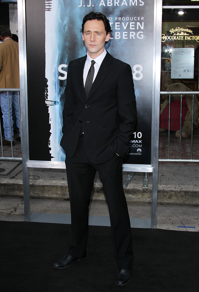 Super 8 LA Premiere 2011 Tom Hiddleston