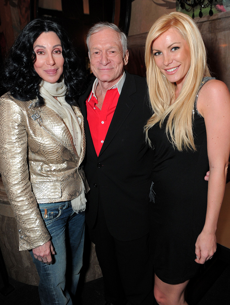 TCM Classic Film Festival A Star is Born Premiere 2010 Cher Hugh Hefner