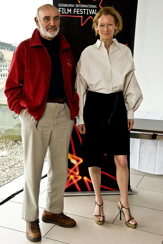 Tilda Swinton 2008 Sean Connery