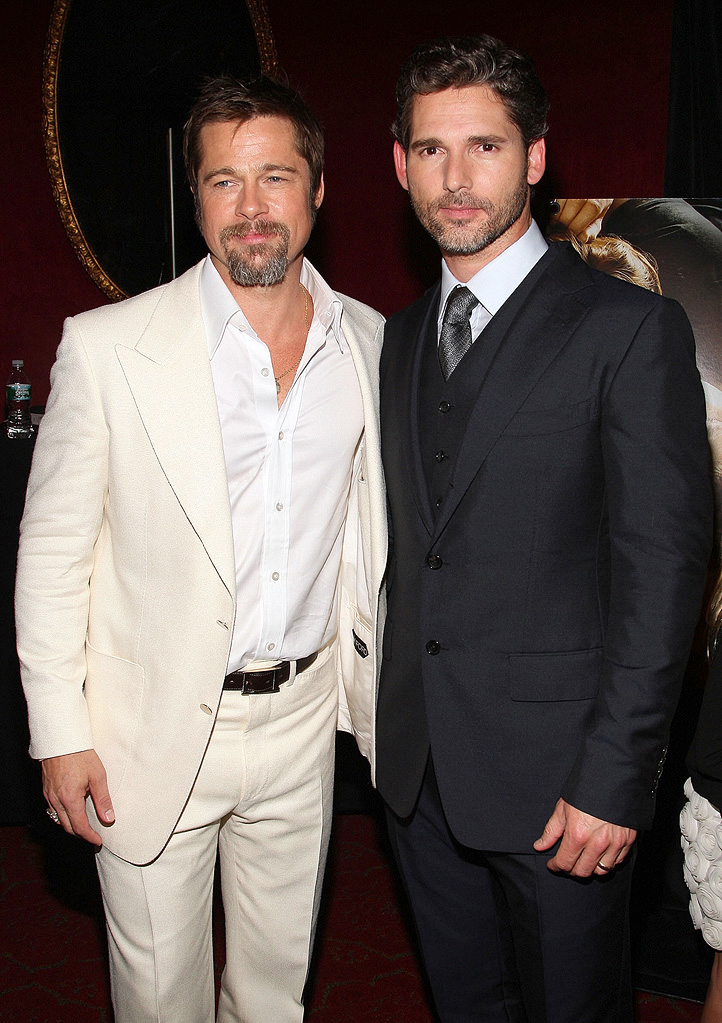 The Time Traveler's Wife NY Premiere 2009 Brad Pitt Eric Bana