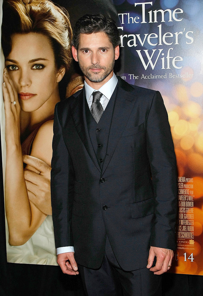 The Time Traveler's Wife NY Premiere 2009 Eric Bana