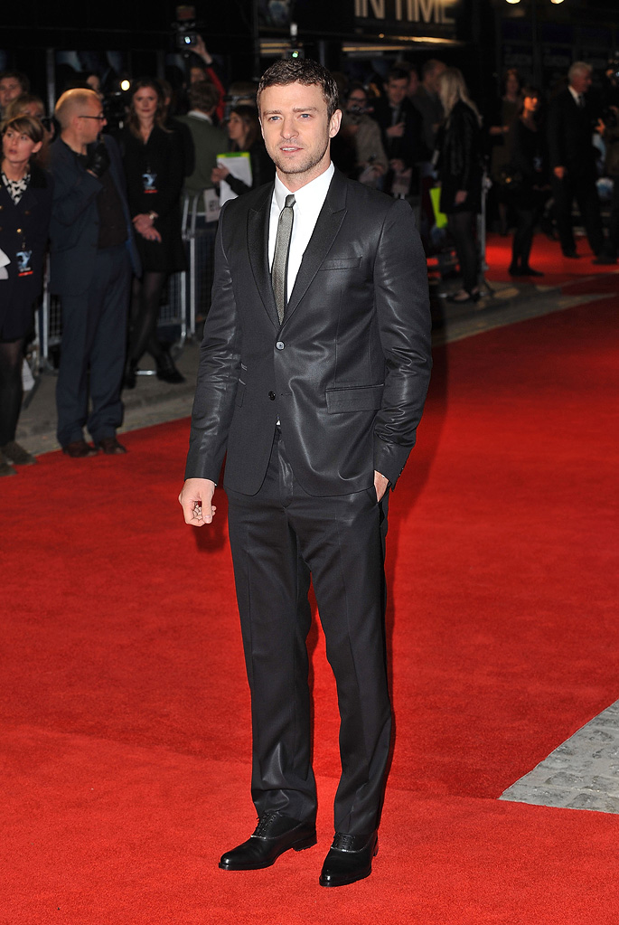 In Time UK Premiere 2011 Justin Timberlake