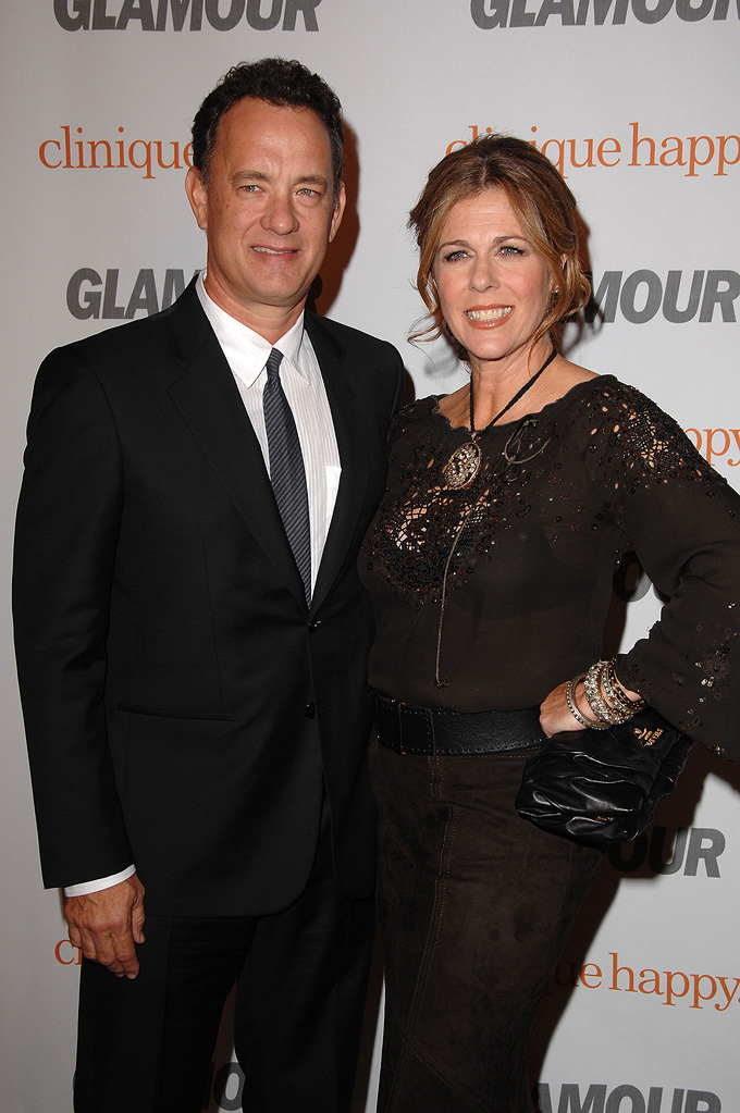 Tom Hanks 2007 Rita Wilson