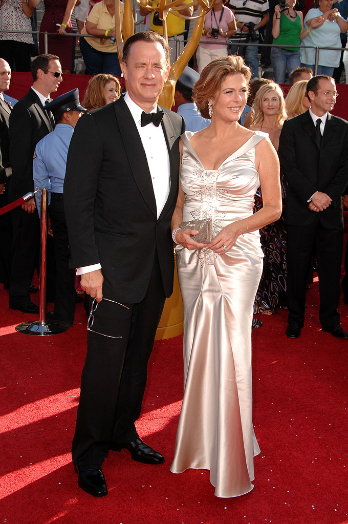 Tom Hanks 2008 Rita wilson