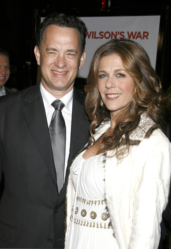 Tom Hanks Rita Wilson 2007