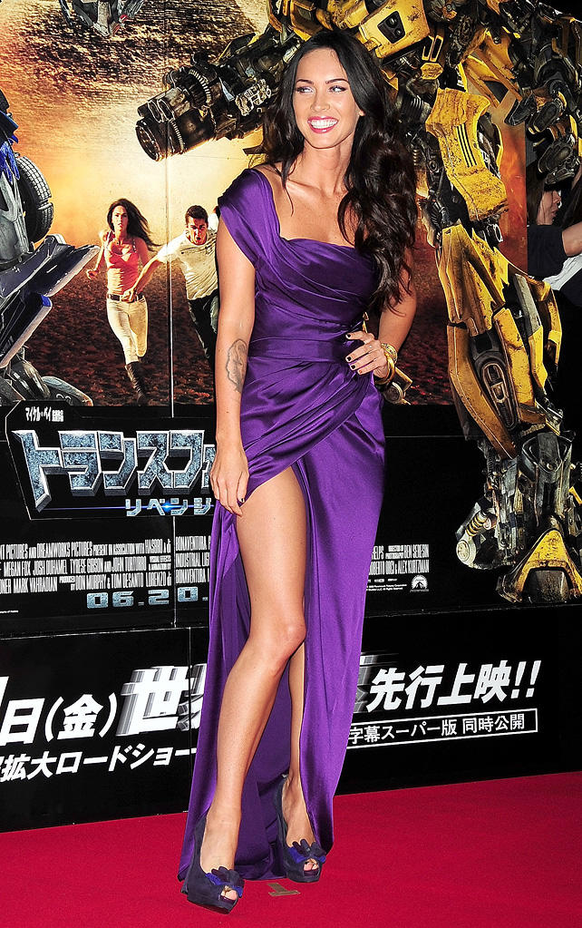 Tranformers Revenge of the Fallen Japan Premiere 2009 Megan Fox