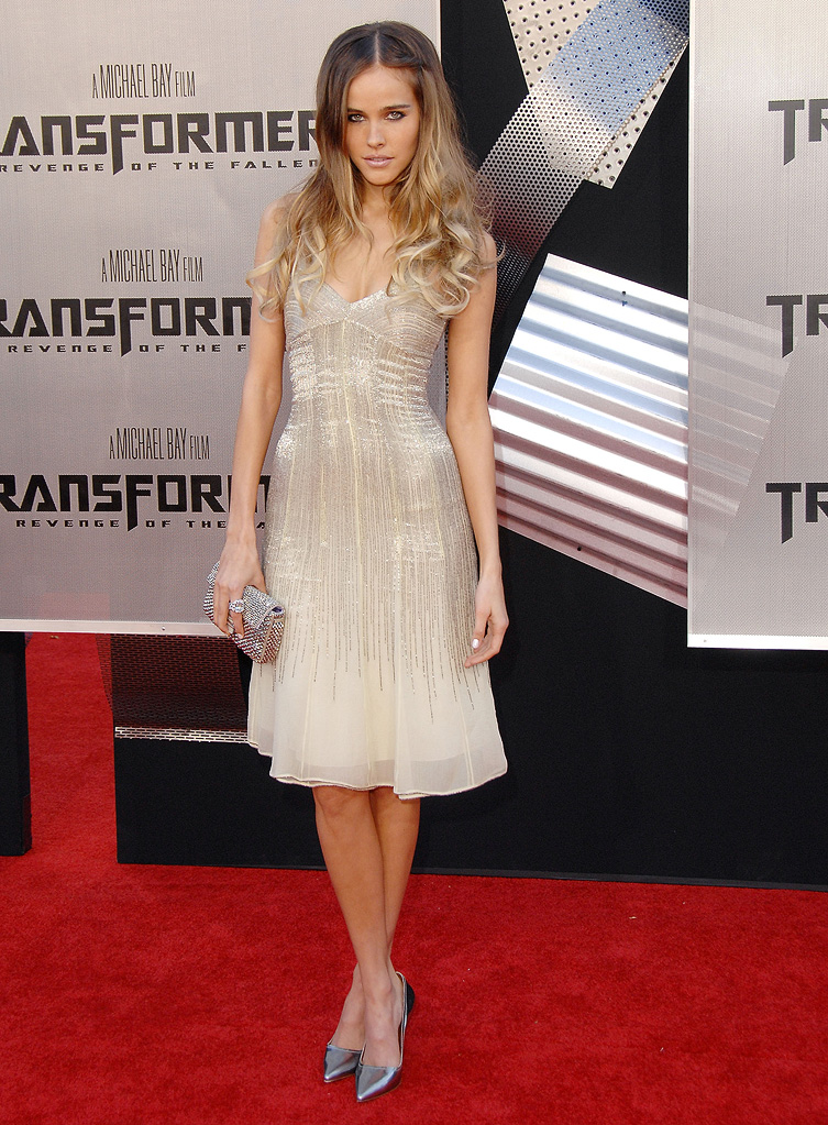Transformers Revenge of the Fallen LA Premiere 2009 Isabel Lucas