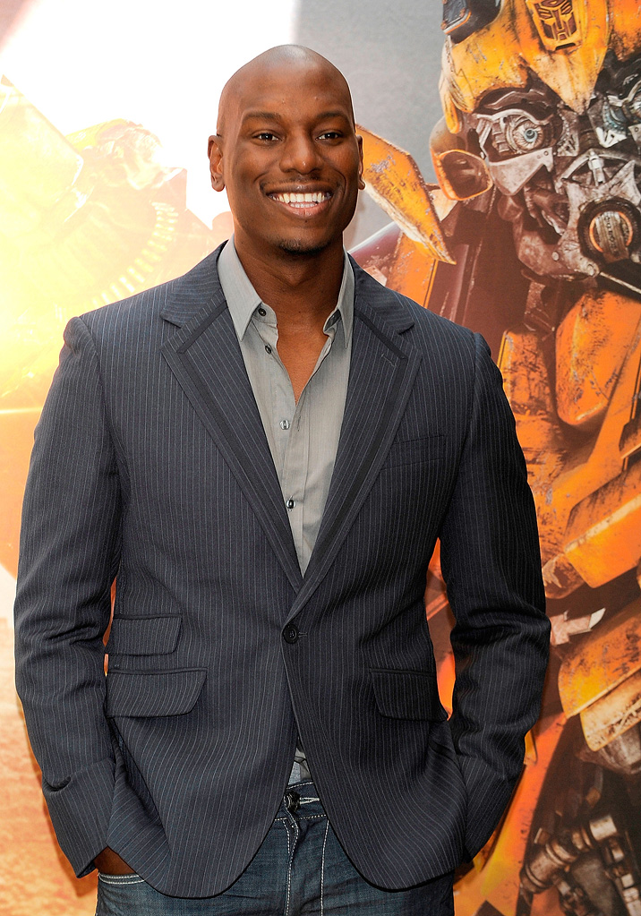 Transformers Revenge of the Fallen Madrid Photocall 2009 Tyrese Gibson