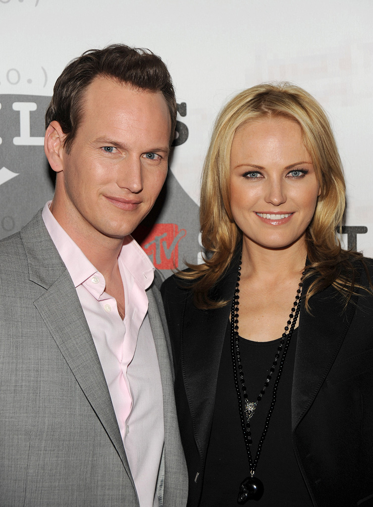 Watchmen Screening LA 2009 Patrick Wilson Malin Akerman