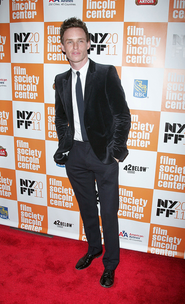 my week with Marilyn NY Premiere 2011 Eddie Redmayne