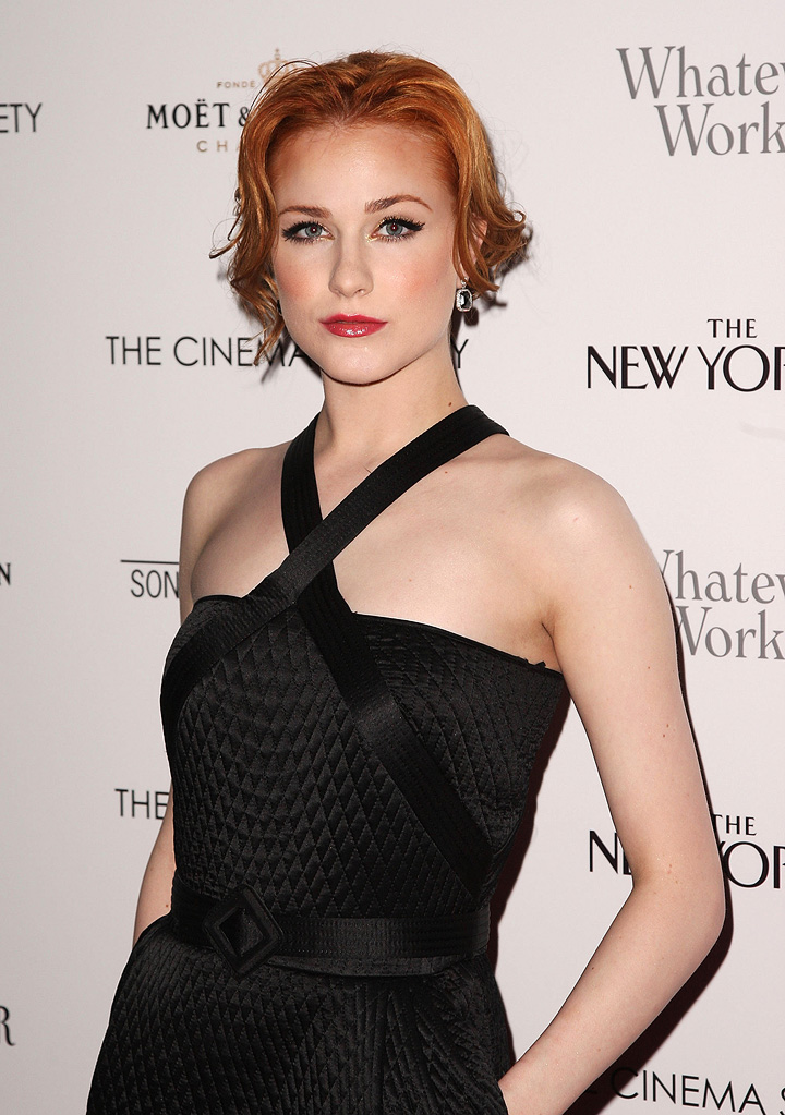 Whatever Works NY Screening 2009 Evan Rachel Wood