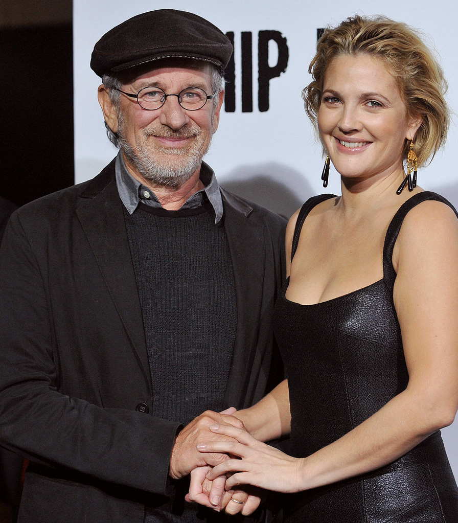 Whip It LA Premiere 2009 Steven Spielberg Drew Barrymore