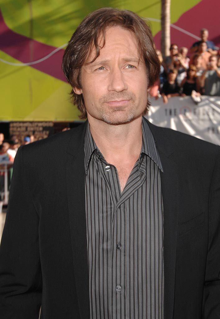 XFiles I Want to Believe Hollywood Premiere 2008 David Duchovny