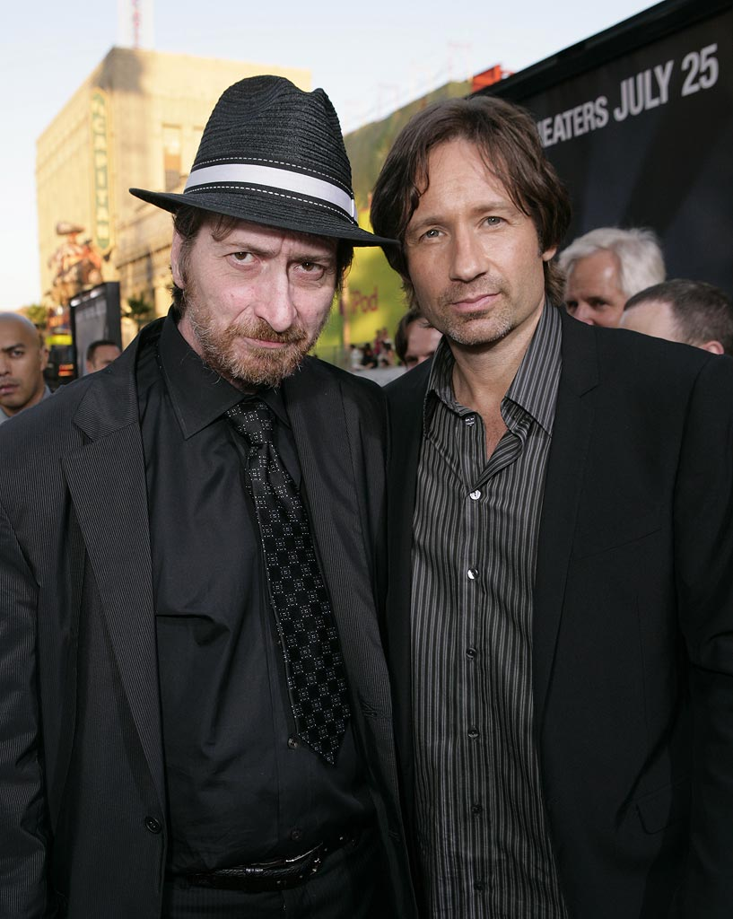 XFiles I Want to Believe Hollywood Premiere 2008 Frank Miller David Duchovny