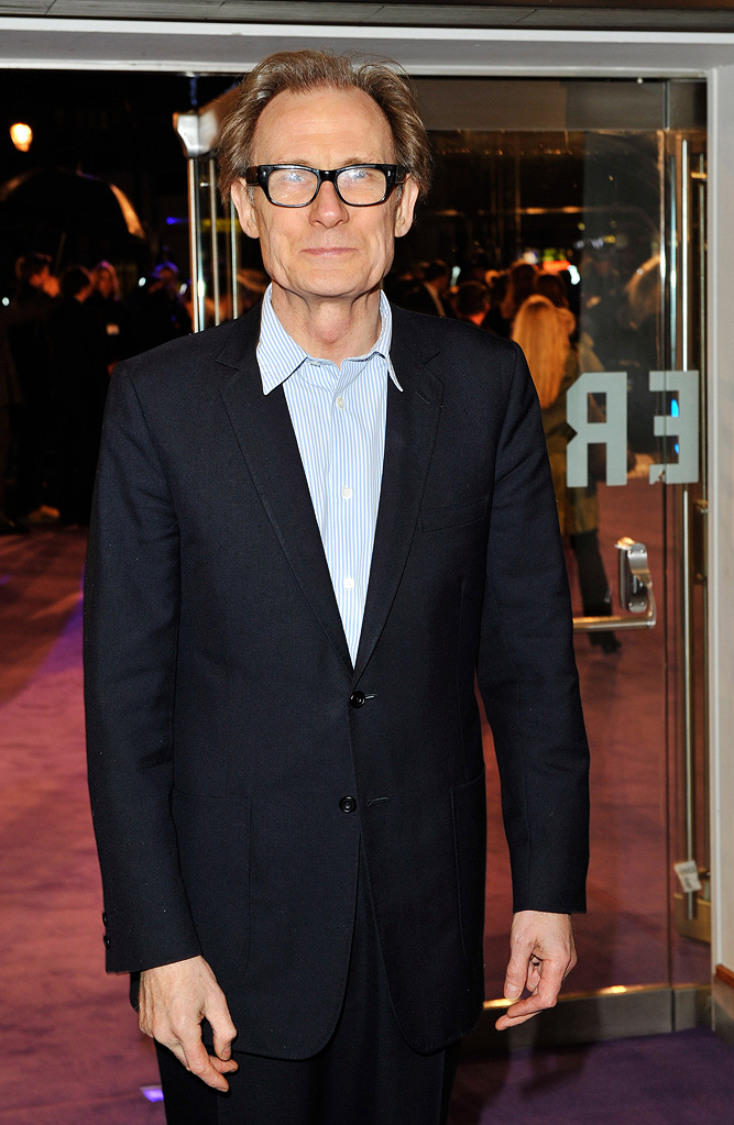 The Young Victoria UK Premiere 2009 Bill Nighy