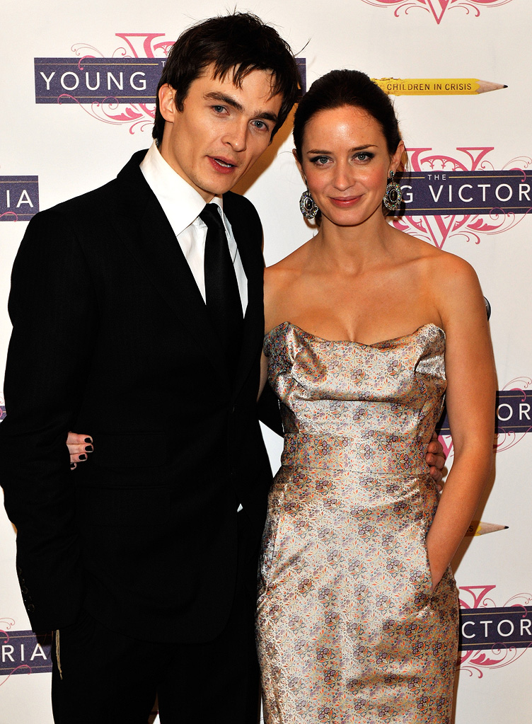 The Young Victoria UK Premiere 2009 Rupert Friend Emily Blunt
