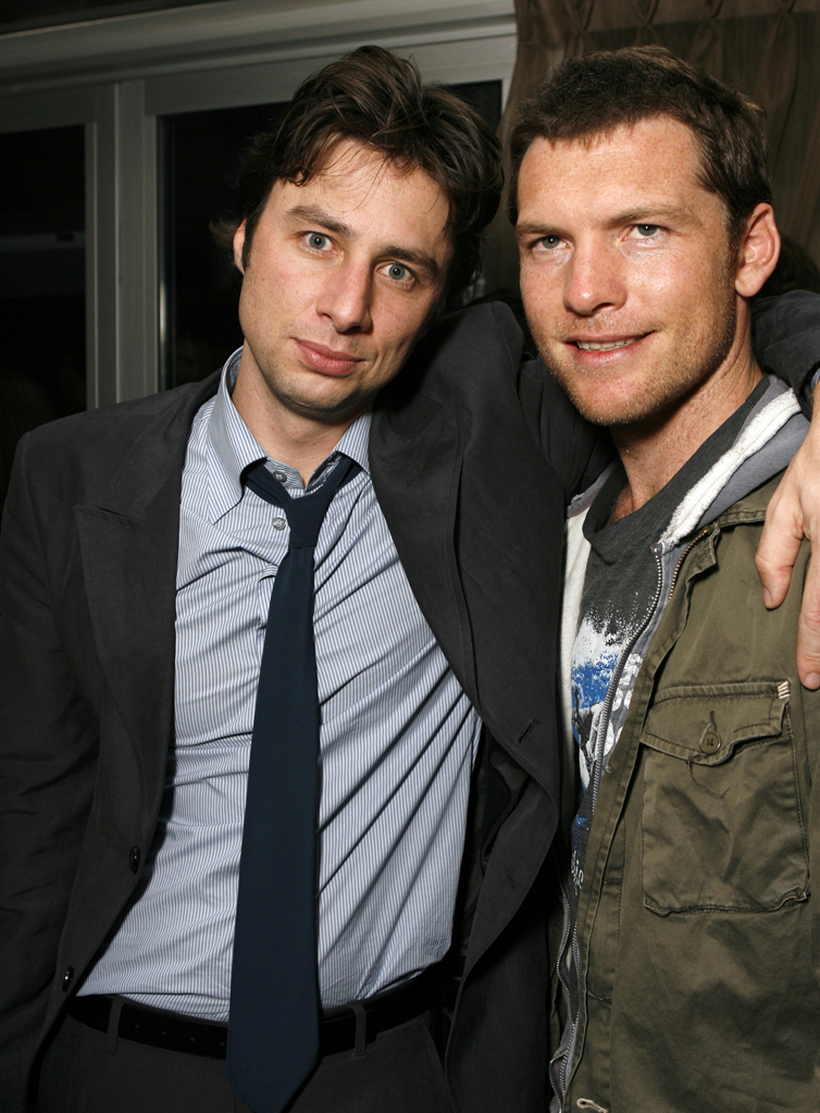 Zach Braff and Sam Worthington and at the 31st Toronto Film Festival, September 11, 2006.