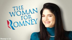 Selma Blair 'Supports' Mitt Romney in Funny or Die Spoof (Video)