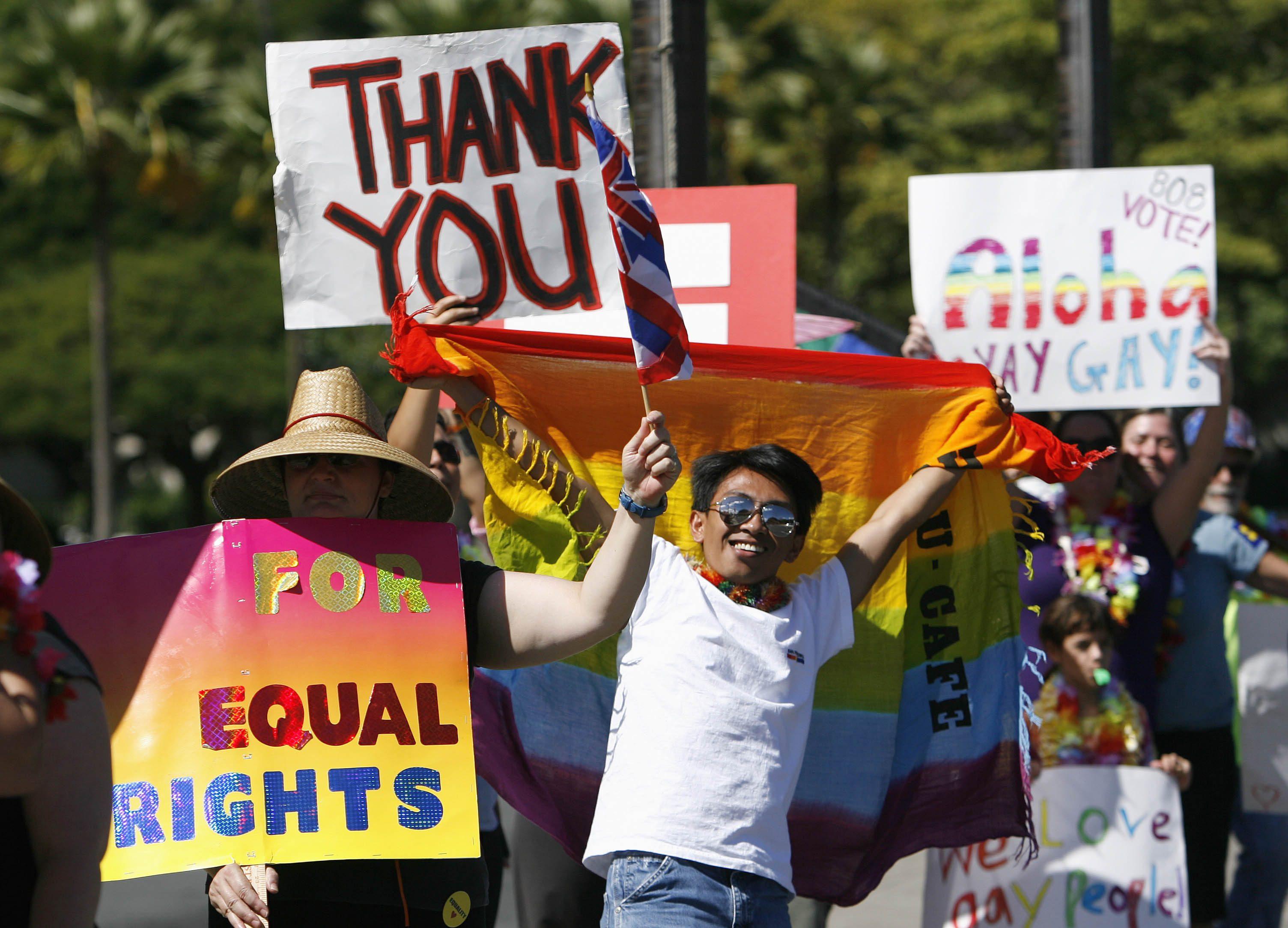 legalization of same sex marriage in hawaii in Savannah