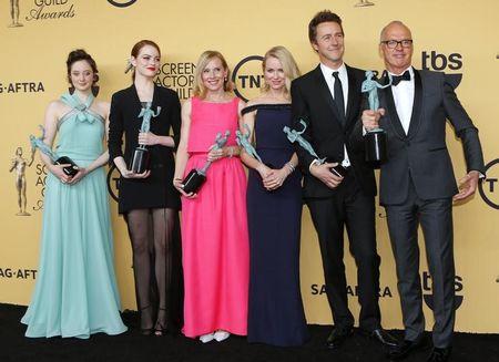 """""""Birdman"""" leva prêmio de melhor elenco do sindicato dos atores de Hollywood"""