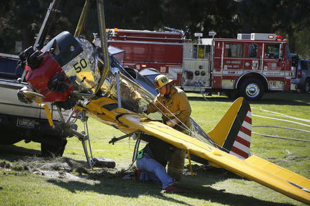 Avião de Harrison Ford perdeu potência antes de acidente em Los Angeles, diz relatório