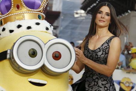"""Sandra Bullock diz ter gostado de viver vilã na animação """"Minions"""""""