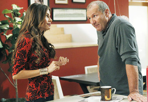 Sofia Vergara and Ed O'Neill | Photo Credits: Peter