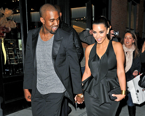 "Kim Kardashian, Kanye West Are ""Talking Marriage"""