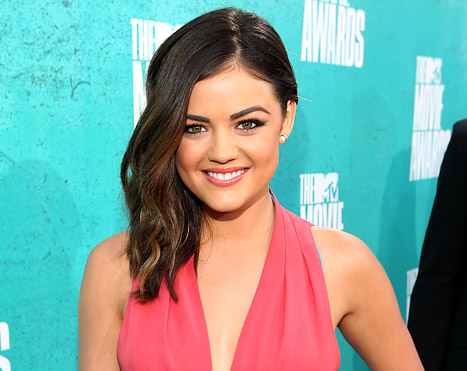 Lucy Hale Wants to Play Anastasia Steele in 50 Shades of Grey