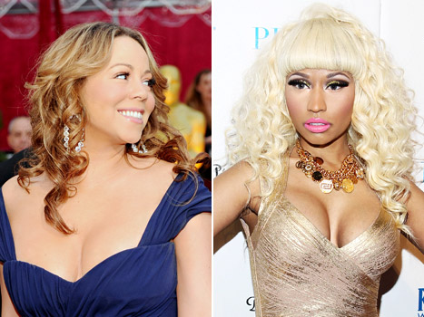 Nicki Minaj, Mariah Carey Ended American Idol Feud By Watching Nicki's Sex Tape