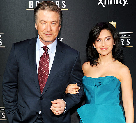 Alec Baldwin's Wife Hilaria Thomas Is Pregnant!