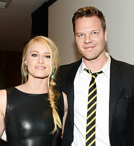 Jim Parrack with beautiful, Boyfriend Leven Rambin