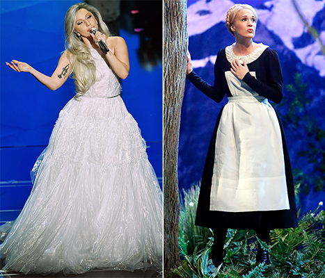 Carrie underwood sound of music trailer : Fort henry mall movie