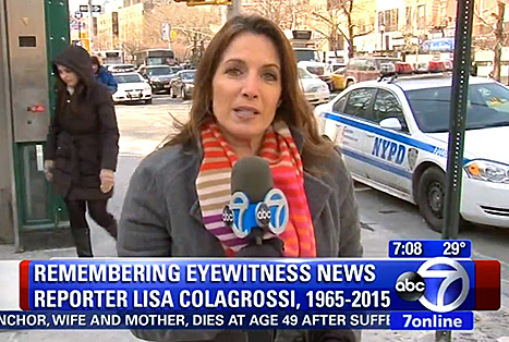 Lisa Colagrossi Dead: WABC Eyewitness News Reporter Dies of Brain Aneurysm While on Assignment at 49