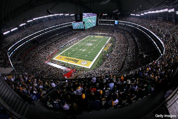 cowboys stadium misses super bowl attendance record by 766 tampa