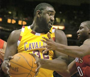 Robert Traylor played seven seasons in the NBA, including two stints with Cleveland in .